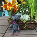 Katze Lisa von Christiane steht auf Frühling