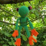 Frosch Fred hängt ab - von Kristina