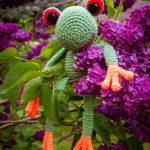 Fred liebt die Farbe und den Duft von Flieder ganz besonders ?