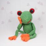Häkelanleitung Frosch Fred