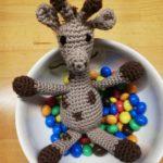 Eine glückliche Giraffe von Lisa - @rosa.und.lini