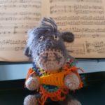 Manuelas Carlos ist auch sehr musikalisch...