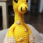 Giraffe Glenn in guten Händen bei Michaela